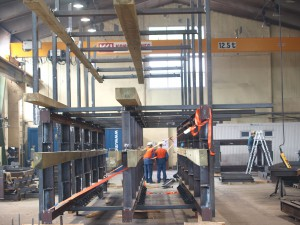 Assabled elevator constructions